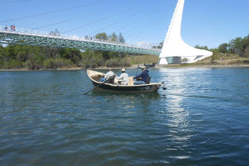 Day Trip Guided Fishing Trip on the Sacramento River from Redding near Redding, California