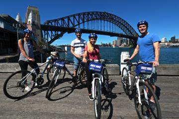 シドニーを巡るセルフガイドサイクリングツアー