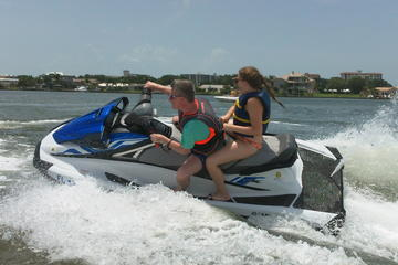 2-hour Dolphin and Caladesi Island Jet Ski Tour
