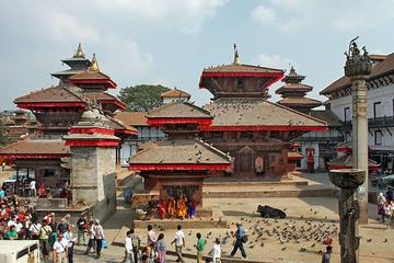 パシュパティナート寺とスワヤンブナート仏塔を含…