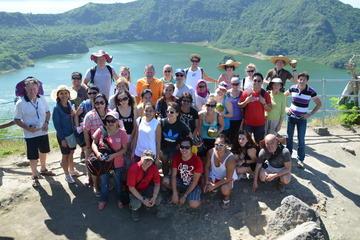 Tagaytay und Taal-Vulkan...
