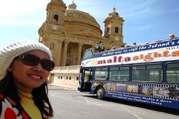 Visite panoramique du nord de Malte, en circuit à arrêts multiples