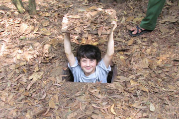 Half-Day Cu Chi Tunnels Tour from Ho...