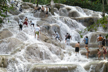 Tour delle cascate del fiume Dunn e della laguna luminosa con