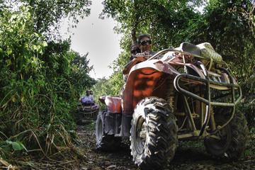 Private Jungle Tour ATV Zipline Cenote Half day trip