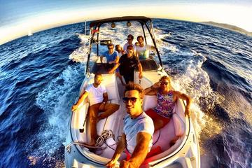 Private Bootstour um Ibiza bei Sonnenuntergang