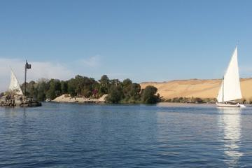 Felucca Ride on the Nile in Aswan at...