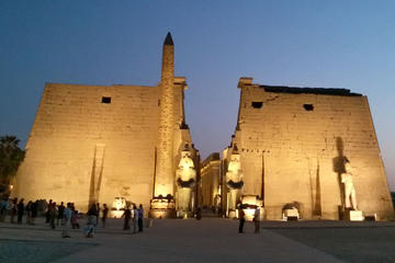 Tour della sponda orientale di Luxor con visita ai templi di Karnak e