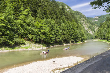Dunajec River Rafting Tour from Krakow with Private Transfers