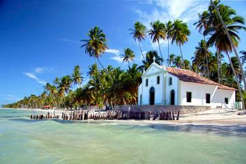 Playa de Carneiros e iglesia de San Benito desde Recife