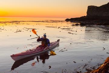 Sunset Sea Kayaking near Olympic...