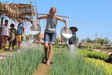 Become a Farmer at Tra Que Vegetable Village included cooking class...