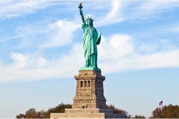 NYC-cruise naar het Vrijheidsbeeld