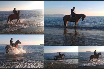Horse Riding on Kalamata beach