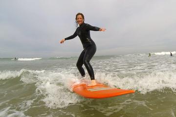 Cours de surf privé d'une heure à...