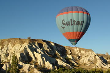 1-Stündiger Heißluftballonflug über Kappadokien mit Sultan Ballons