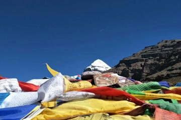 Shared Kailash Everest Tour Coach and Tibetan Local Guide