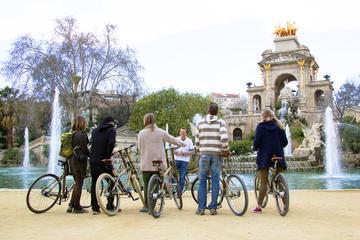Private 3-stündige Bambusfahrrad-Tour in Barcelona