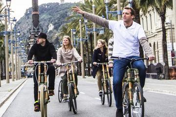 Private Bambusfahrrad-Tour in Barcelona