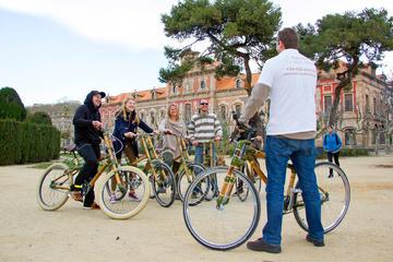 Recorrido privado en bicicleta de bambú de 4 horas por Barcelona
