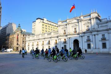 Recorrido en bicicleta por los parques de Santiago