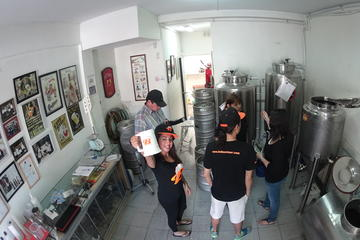 Excursão pelas cervejarias de Santiago