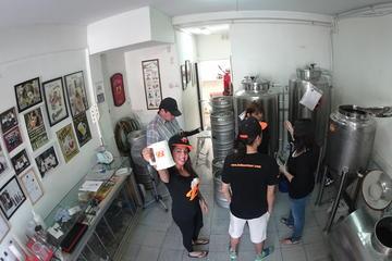 Visita a la fábrica de cerveza y cerveza artesanal en Santiago