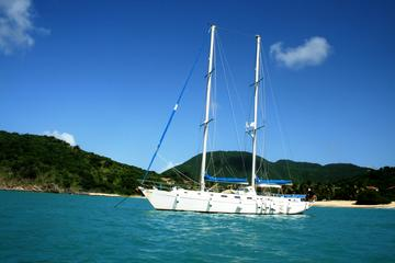 Een halve dag zeilen en snorkelen op Sint Maarten
