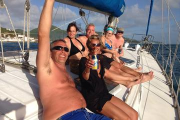 Half-Day Sail and Snorkel Adventure in St Maarten