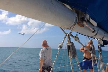 Zeil- en snorkeltour op Sint Maarten, inclusief lunch