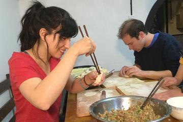 Chinese Traditional Dumpling Making...