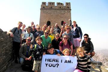 Wanderung auf der Chinesischen Mauer von Jinshanling nach Simatai West