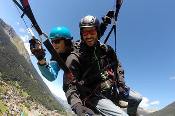 Tandem Paragliding Flight in Klosters