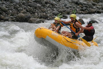 Sarapiqui rafting with organic farm