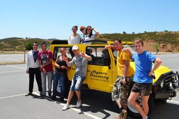 Viagem de Jipe pela Costa de Algarve...