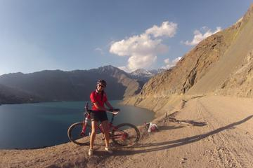 Andes Mountain Bike Tour at Embalse El Yeso from Santiago