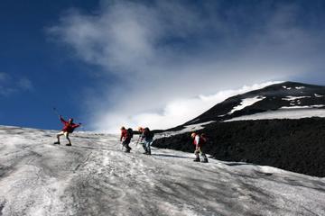 Ascent to Villarrica volcano