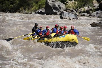 Rafting no Rio Maipo saindo de Santiago