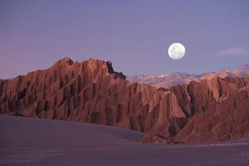 Visita a primera hora de la tarde al Valle de la Luna