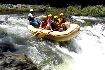 Rafting Class III and IV in Tenorio River from Playa Hermosa