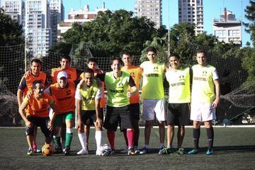 """Partido de fútbol """"pachanga"""" en Buenos Aires"""