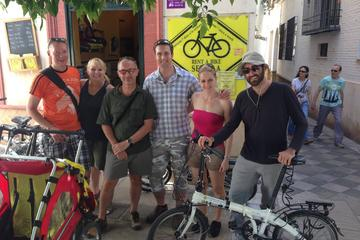 Excursão de bicicleta pela cidade de Sevilha
