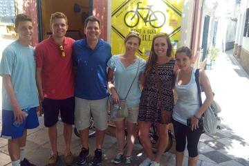 Tour met elektrische fiets in Sevilla