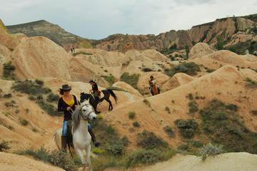 Horse Back Riding through Cappadocia