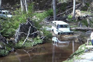 Excursión en vehículo todoterreno por los lagos Fagnano y Escondido