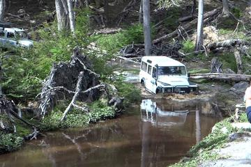 Excursion hors-route aux lacs Fagnano et Escondido