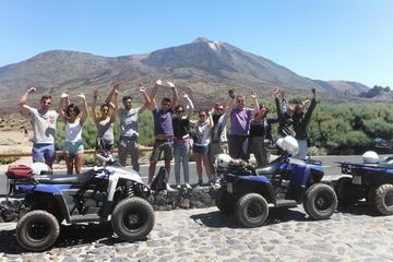 Escursioni guidate in quad nel parco nazionale del Teide a Tenerife