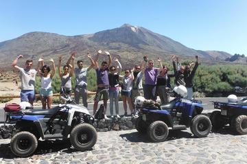 Safari guidato in quad nel parco nazionale del Teide a Tenerife