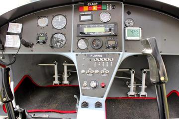 First Flight in Autogyro in Auvergne