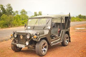 Full Day Private Tour and Transfer by Jeep between Hoi An or Danang...